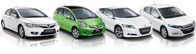 Honda Hybride modellen