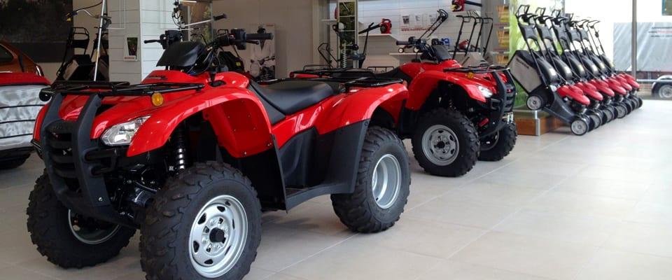 Een Honda ATV is van alle markten thuis! Bezoek snel onze showroom en ontdek!