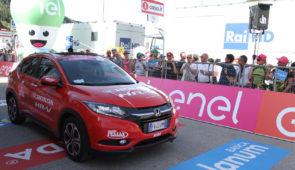Honda dit jaar wederom de trotse officiële sponsor en leverancier Giro d'Italia