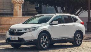 Honda maakt verbruikscijfers CR-V Hybrid bekend