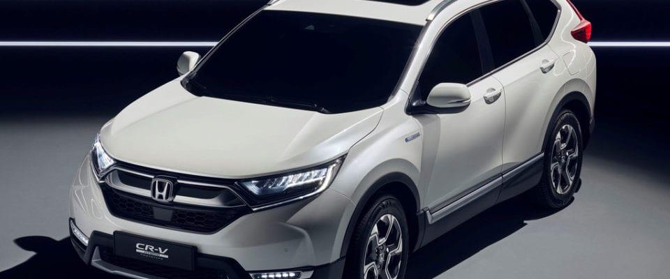 De compleet nieuwe Honda CR-V