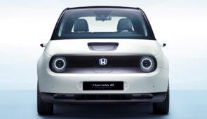 Eerste leveringen elektrische stadsauto Honda e in voorjaar 2020