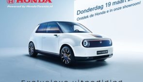 Exclusieve Preview Honda e
