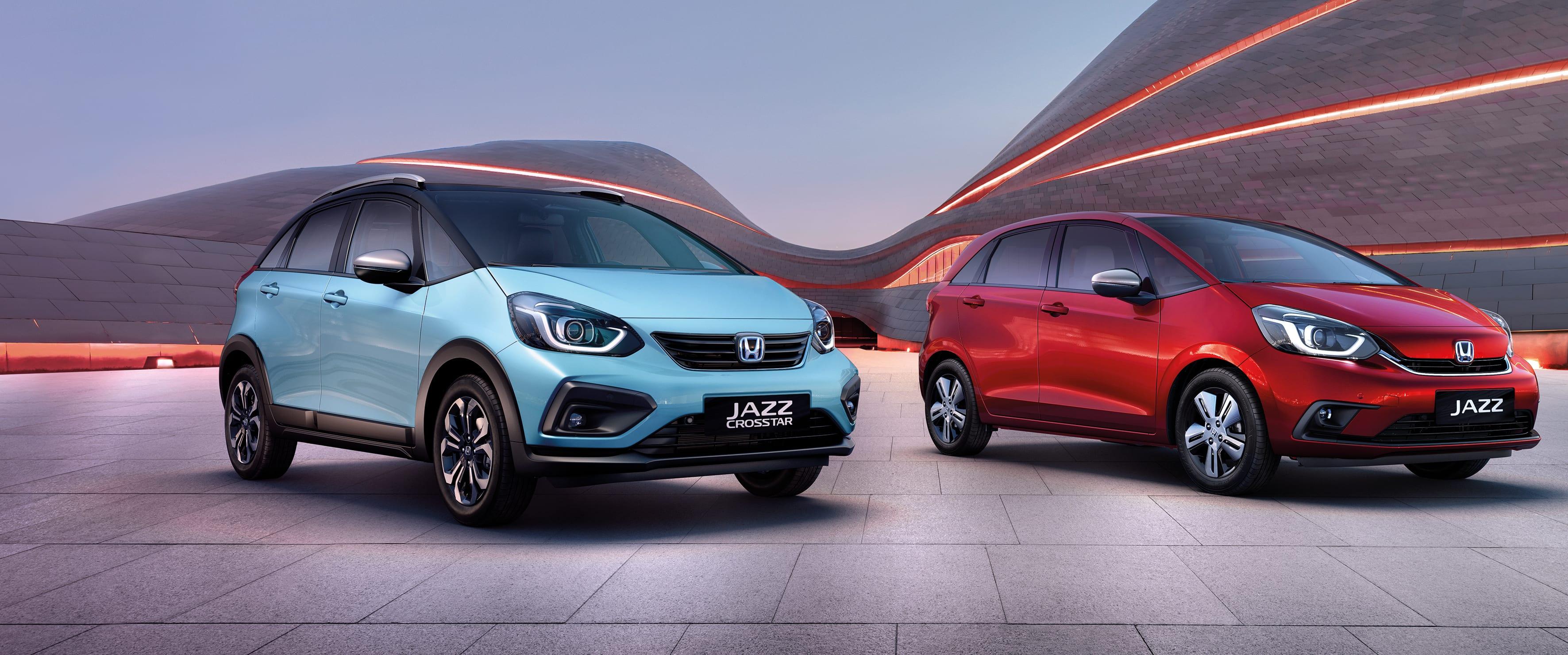 De volledig nieuwe Jazz met de Honda hybride technologie - e:HEV.