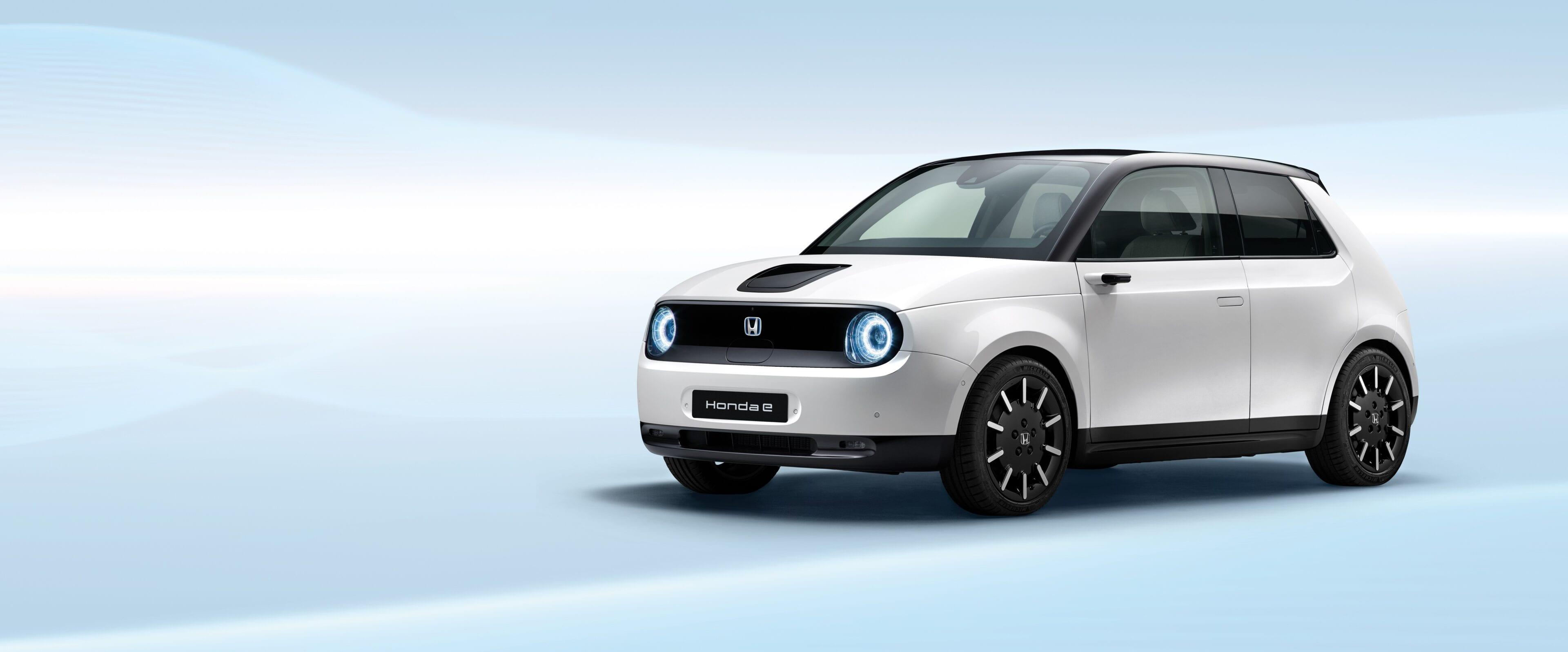 Test zelf de volledig elektrische Honda e